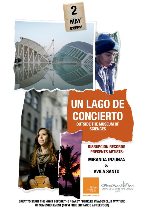Un lago de conciertos