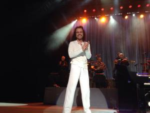 Photo: Yanni live in Boston (picture by me)