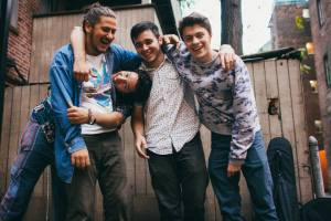 Bron Don From left: Mitchell Cardoza, Michael Cangemi (sideways), Colin Mohr, John Cattini