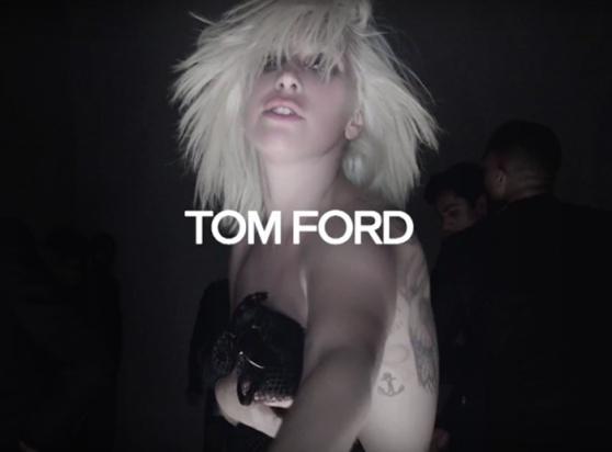 Tom Ford SS16 Lady Gaga